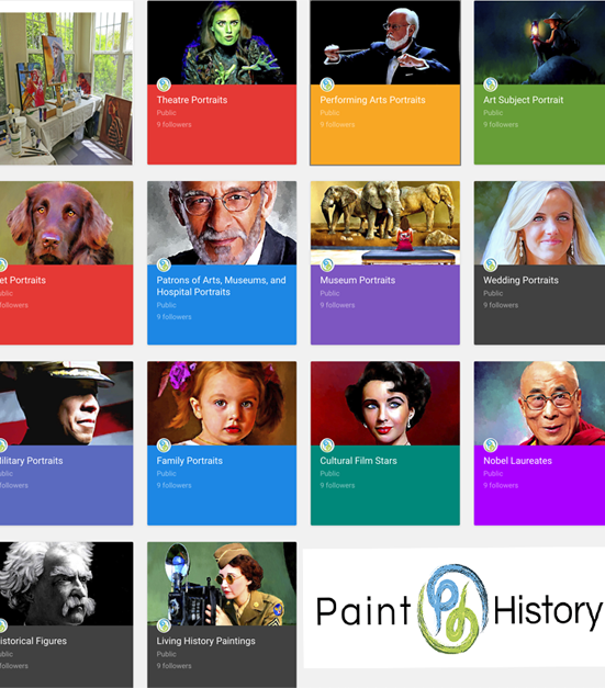 paint history art subjects