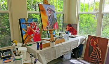 paint history art studio