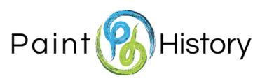 paint history logo